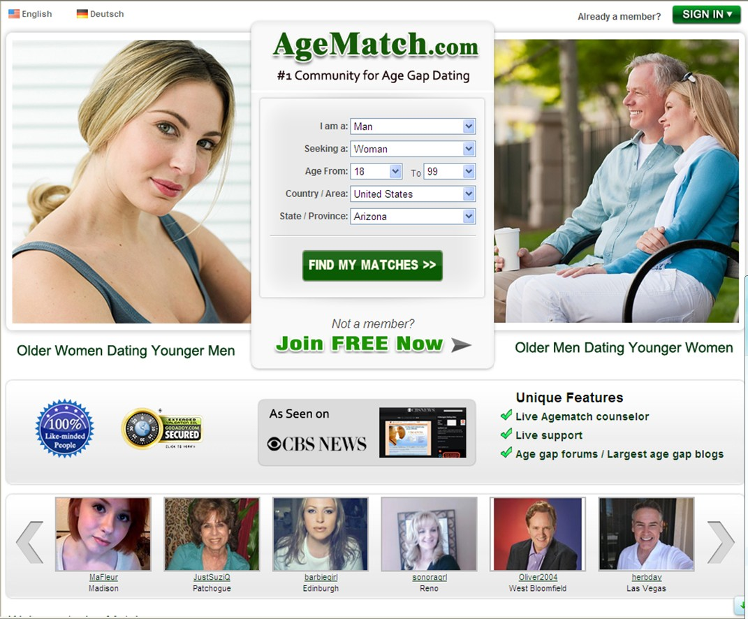 Old dating site usa